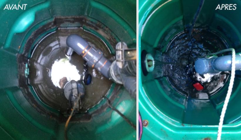 entretien poste de relevage eaux usées