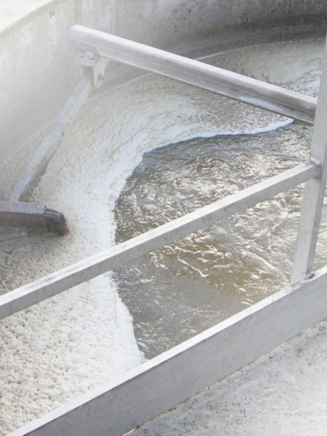 stations d'épuration de traitement des eaux